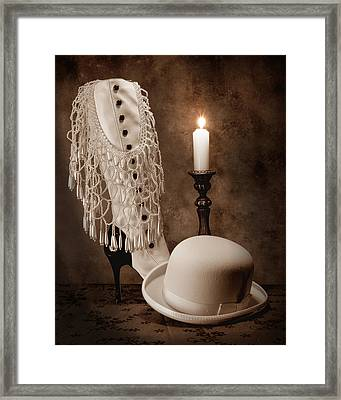 High Society Framed Print