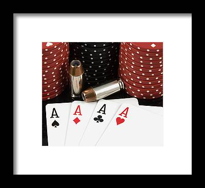 Poker Framed Prints