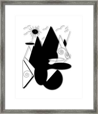High Standard Framed Print by Karen Diggs