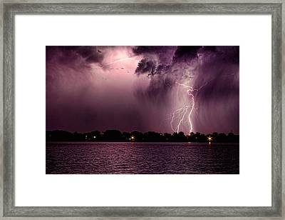 High Strike Framed Print