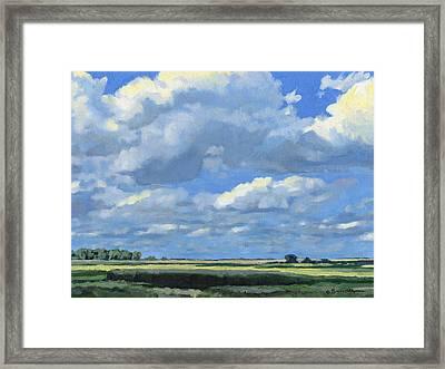 High Summer Framed Print by Bruce Morrison
