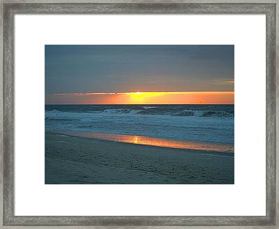 High Sunrise Framed Print