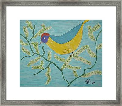 High Tail Framed Print by Nicholas A Roes
