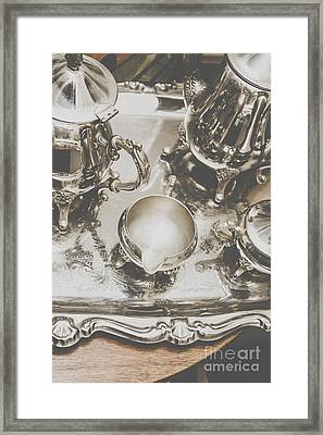 High Tea Party Framed Print