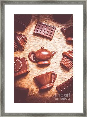 High Tea Snacks Framed Print by Jorgo Photography - Wall Art Gallery