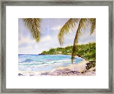 High Tide At Brewers Framed Print