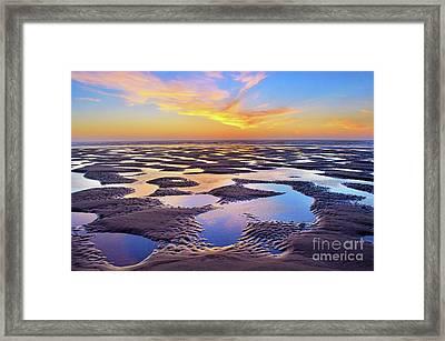 High Tide Impressions Framed Print