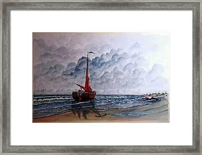 High Tide2 Sold Framed Print
