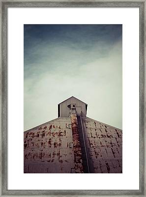 Framed Print featuring the photograph High View by Trish Mistric