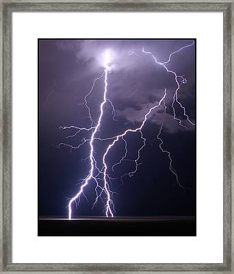 High Voltage! Framed Print