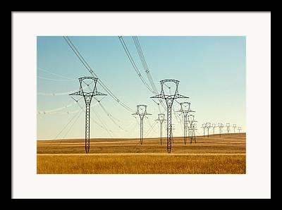 Electric Pylon Framed Prints