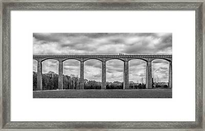 Sky Walkers Framed Print by Nick Bywater