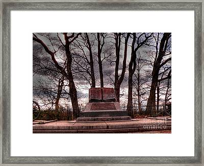 High Water Mark Of Confederacy Framed Print
