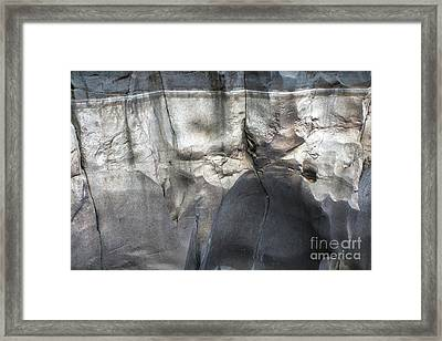 High Water Mark Rock Art By Kaylyn Franks Framed Print