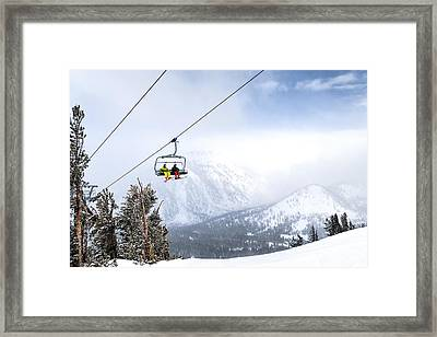 High Way To Heaven Framed Print by Maria Coulson