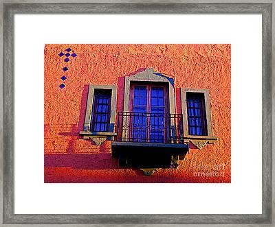 High Windows Framed Print
