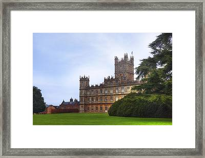 Highclere Castle Framed Print