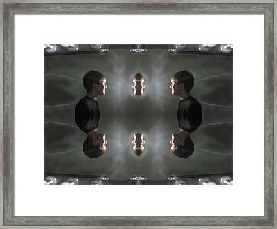 Higher Self Mirror Framed Print