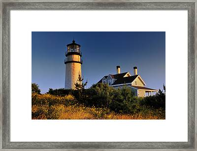 Highland Beacon From The Bluffs Framed Print by Thomas Schoeller