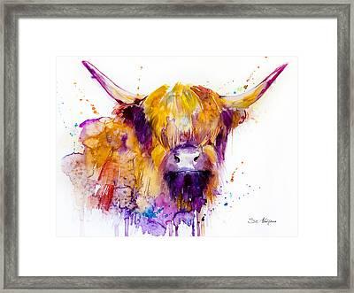 Highland Cow Framed Print