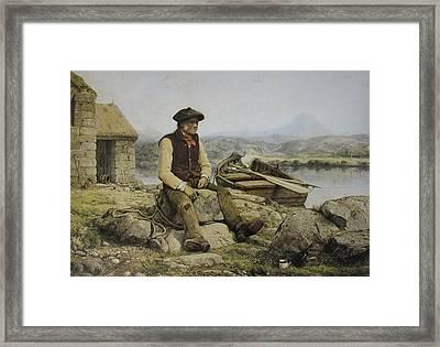 Highland Ferryman Framed Print by Celestial Images