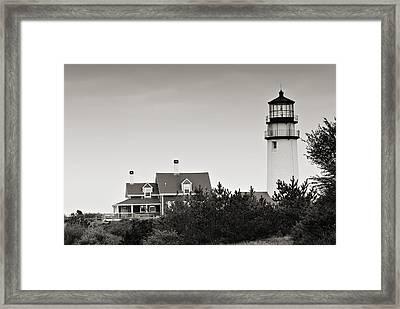 Highland Light At Cape Cod Framed Print