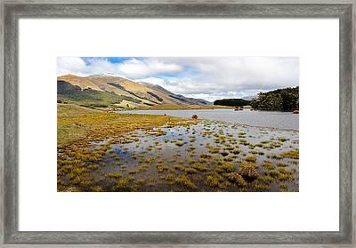 Highland Mere Framed Print