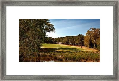 Highland Oaks Golf Course Framed Print by Mountain Dreams