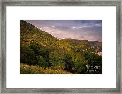Highland Road Framed Print