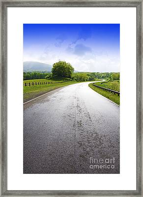 Highland Scenic Highway Route 150 Framed Print by Thomas R Fletcher