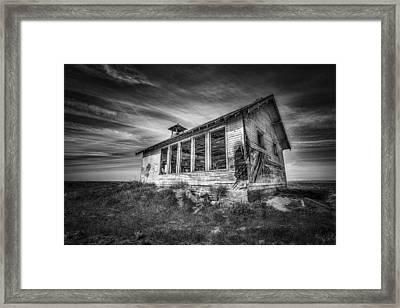 Highland School House Framed Print