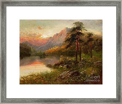 Highland Solitude Framed Print