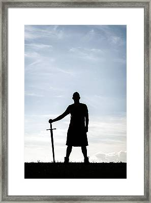 Highlander Framed Print by Joana Kruse