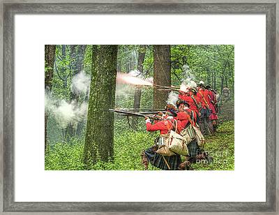 Highlanders Hold Framed Print by Randy Steele