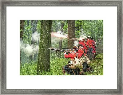 Highlanders Hold Framed Print by Randy Steele