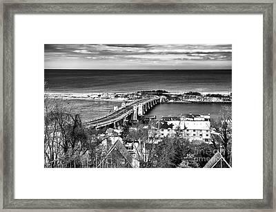 Highlands Bridge Framed Print by John Rizzuto