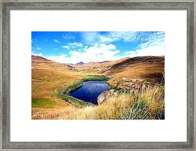 Highlands Framed Print
