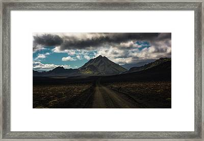 Highlands Framed Print by Tor-Ivar Naess