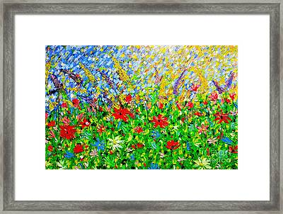 Highlight Of Fairyland Framed Print by Roxane Gabriel