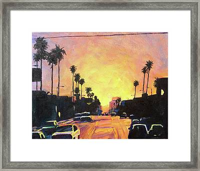 Highlights Framed Print by Bonnie Lambert