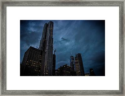 Highrise Framed Print by Martin Newman