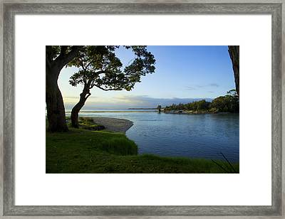 Hightide Framed Print