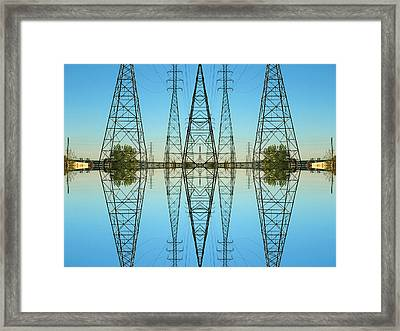 Framed Print featuring the photograph Highway 11 by Karni Dorell