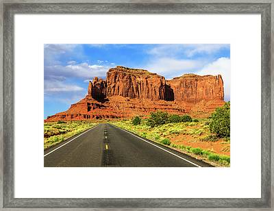 Highway 163 Framed Print by James Marvin Phelps