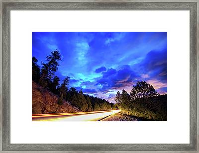 Highway 7 To Heaven Framed Print by James BO Insogna
