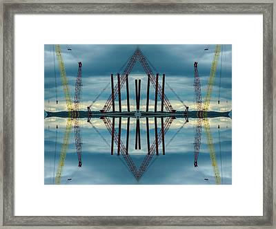 Framed Print featuring the photograph Highway 8 by Karni Dorell