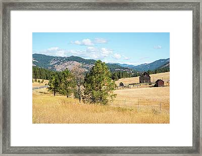 Highway 97 Ranch Memories Framed Print