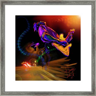 Highway Jam Framed Print