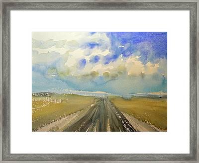 Highway Framed Print