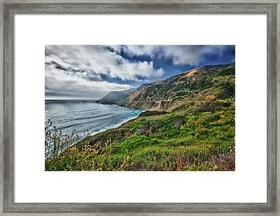 Highway Nr.1 - California Framed Print
